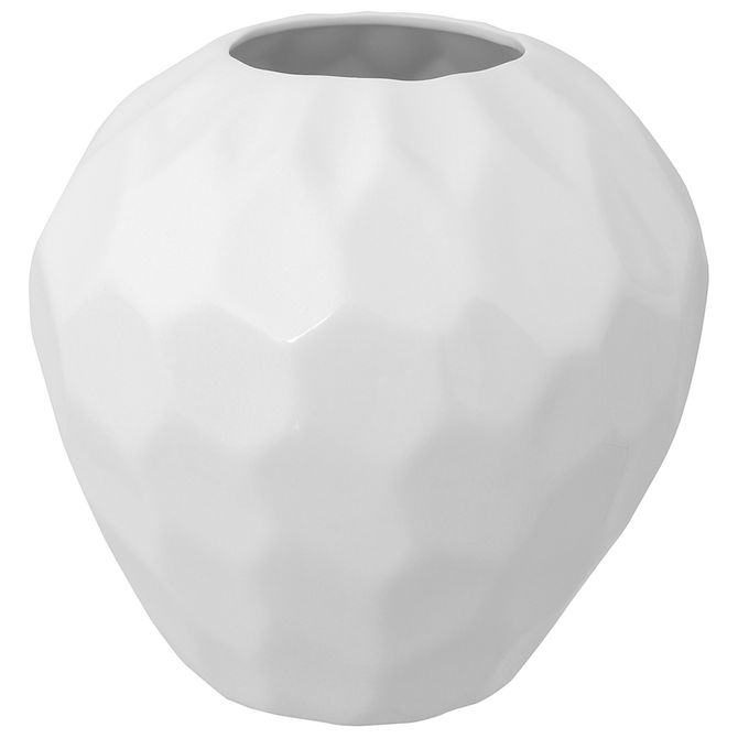 Vaso-23-Cm-Branco-Brilhante-Milos