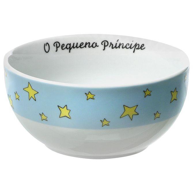 O-P-Principe-Tigela-Red-14-Cm-Azul-Claro-multicor-O-Pequeno-Principe