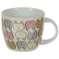 Caneca-350-Ml-Cream-multicor-Gataria