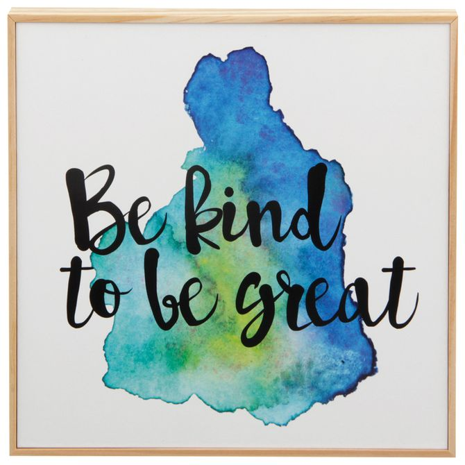 Be-Kind-Quadro-21-Cm-X-21-Cm-Natural-multicor-Good-Vibes