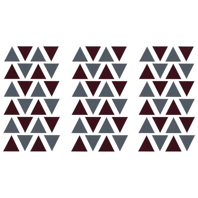 Triangle-Adesivo-4-Cm-X-4-Cm-C-72-Garnet-konkret-Mini
