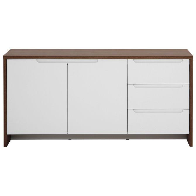 Buffet-2p-3gv-160x46-Freijo-branco-Indoor