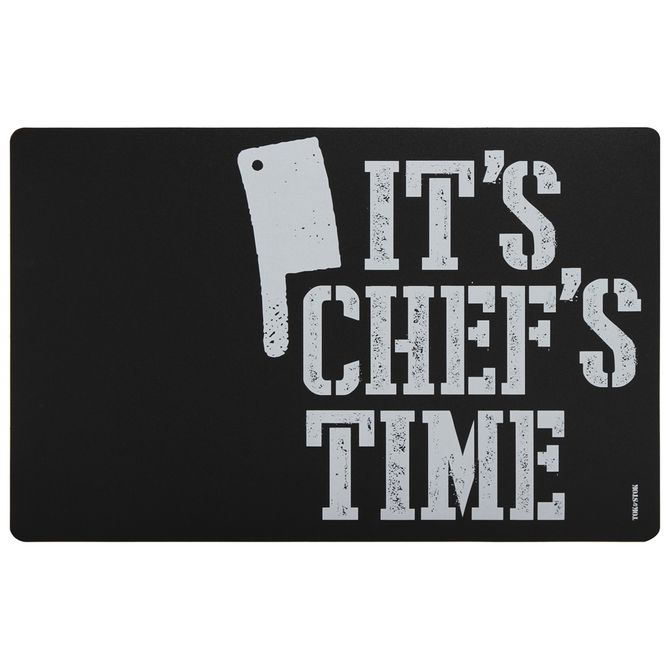 Lugar-Aericano-44-Cm-X-29-Cm-Preto-branco-It-s-Chef-s-Time