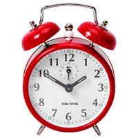 Relogio-Despertador-14-Cm-Vermelho-cromado-Trim