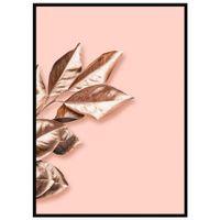 Rose-Leaves-Ii-Quadro-52-Cm-X-72-Cm-Quartzo-Rosa-cobre-Galeria-Site