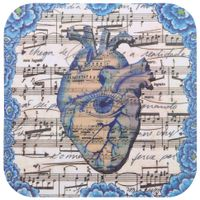 Mouse-Pad-Azul-multicor-Partitura