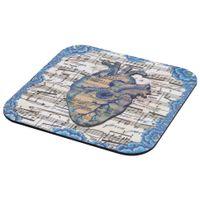 Mouse-Pad-Azul-multicor-Partitura