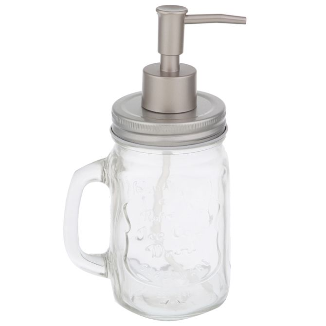 Porta-sabonete-Liquido-Incolor-inox-Jar-Style