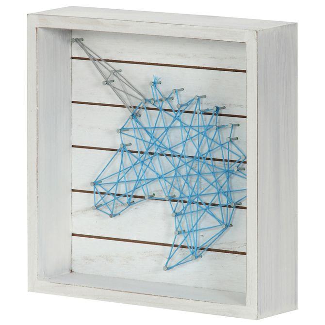 Unicorn-Quadro-20x20-Turquesa-branco-String-Art