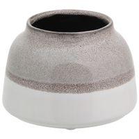 Vaso-9cm-Cinza-branco-Indre-By