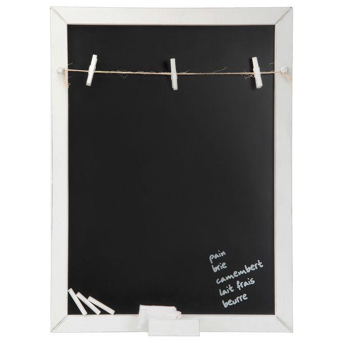 Memory-board-Varal-lousa-54x78-Branco-Provence-Lembramos