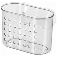 Mini-Porta-shampoo-Incolor-Suction-Basket
