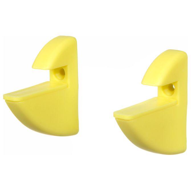 Suporte-P-prateleira-C--2pcs-Amarelo-Tuc