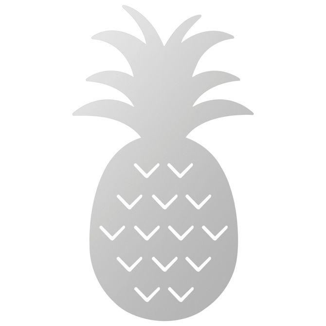 Espelho-Decora-15-Cm-X-26-Cm-Prata-Pineapple