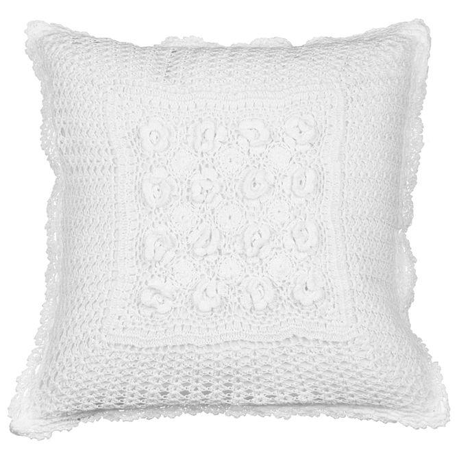 Croche-Capa-Almofada-40cm-Branco-Croche