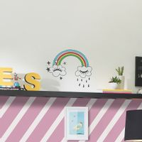 Rainbow-Adesivo-37x47-Multicor-Follow-Your-Dreams