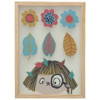 Flor-Quadro-30-Cm-X-40-Natural-multicor-Bichinho-Do-Mato