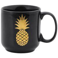 Caneca-450-Ml-Preto-ouro-Pineapple
