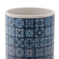 Vaso-20cm-Azul-branco-Porto