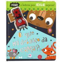 Livro-O-Que-Ha-Debaixo-Da-Cama--Multicor-Livro-Infantil