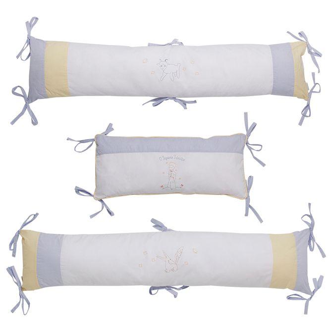 O-P-Principe-Kit-Protetor-Berco-C-3-Branco-multicor-O-Pequeno-Principe