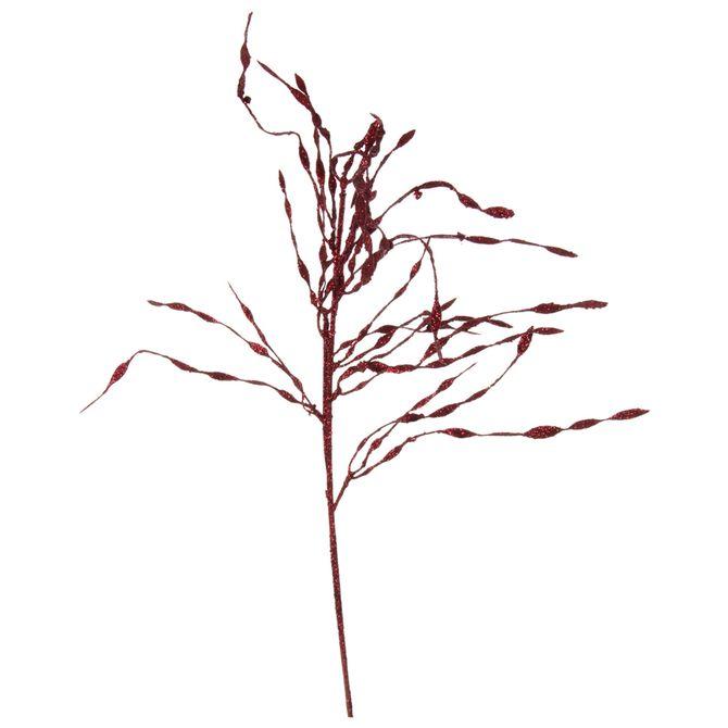 Galho-Decorativo-Chorao-Garnet-Xmas-Gloss