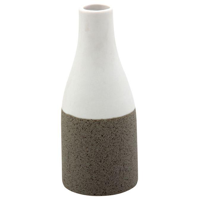 Vaso-garrafa-15-Cm-Branco-konkret-Gabro