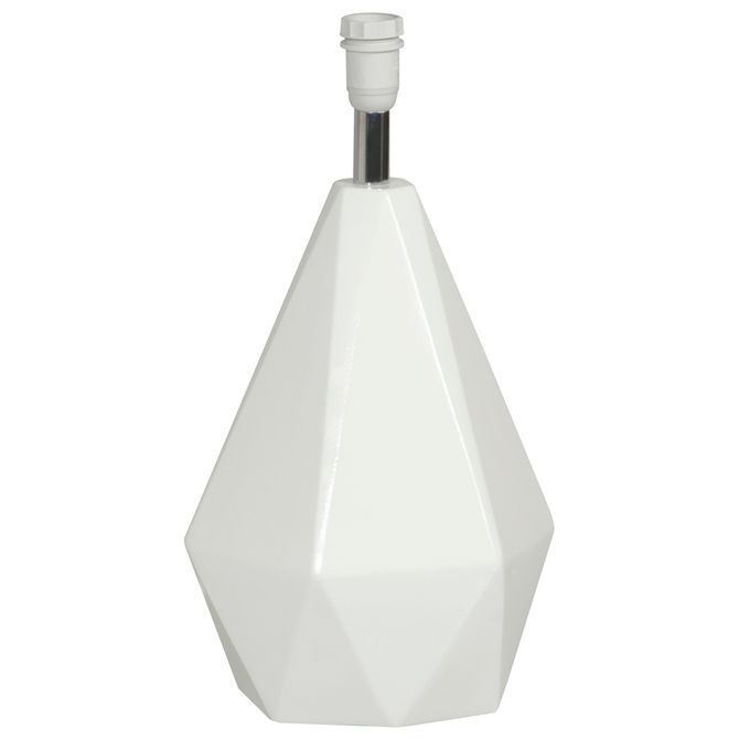 Base-De-Luminaria-Mesa-Branco-Brilhante-Diamond