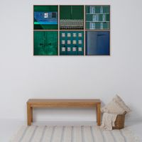Greenery-Iii-Quadro-42-Cm-X-42-Cm-Multicor-cobre-Galeria-Site