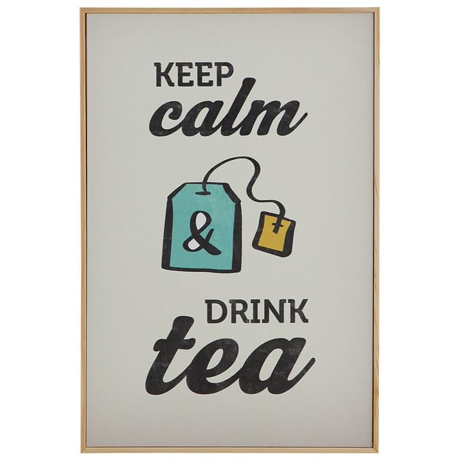 Drink-Tea-Quadro-20-Cm-X-30-Cm-Natural-multicor-Tealex