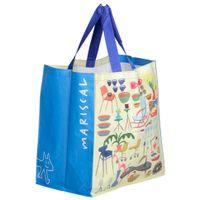 Rafia--Sacola-Azul-multicor-Objetos