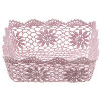Cesto-23-Cm-X-23-Cm-X-9-Cm-Rosa-Antique-Croche-Floral