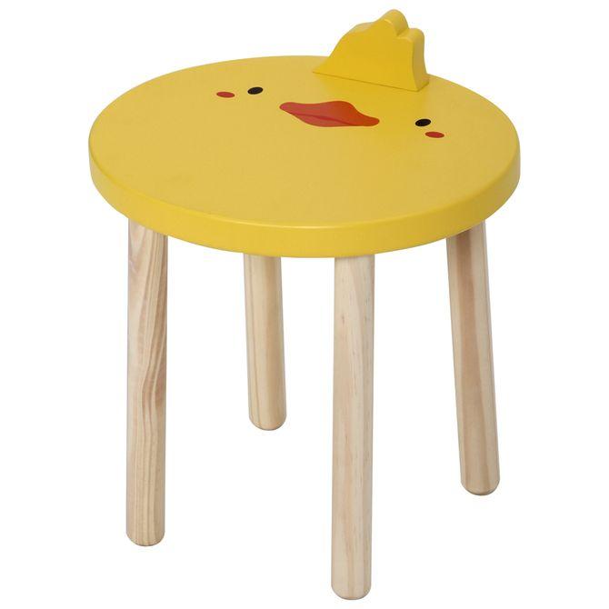Duck-Banco-Infantil-Natural-Washed-banana-Animals