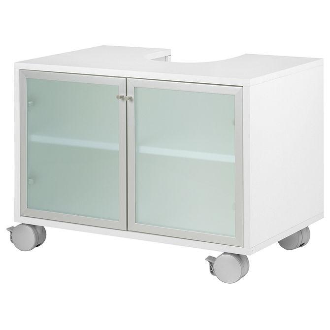 Gab-Inf-2p-Rodizio-Branco-aluminio-Swan