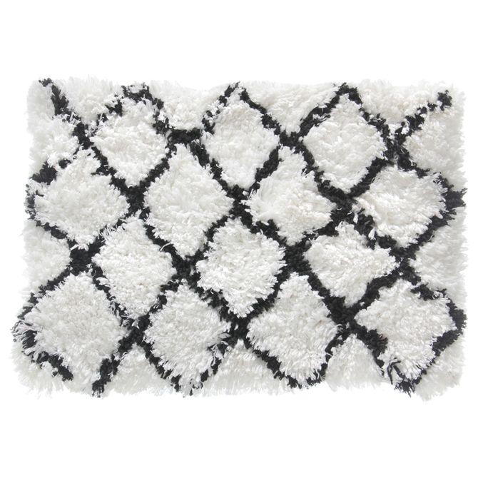 Tapete-70x50-Branco-preto-Levitare