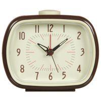 Relogio-Despertador-9-Cm-Marrom-cream-Old-Times