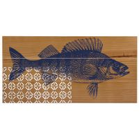 Placa-Decorativa-60-Cm-X-30-Cm-Amendoa-azul-Escuro-Mar