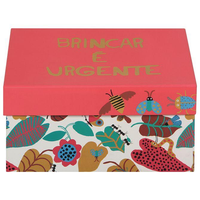 Giftbox--Caixa-31x24x15-Koral-Multicor-Bichinho-Do-Mato