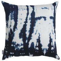 Drip-Almofada-45cm-Azul-Shibori