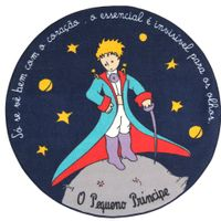 O-P-Principe-Tapete-Redondo-100-Cm-Multicor-O-Pequeno-Principe
