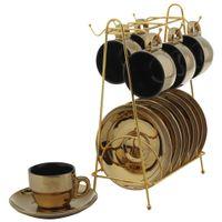 Jogo-Xicaras-Cafe-6-Pcs-Ouro-preto-Prince