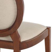 Cadeira-Nozes-bege-Medaillon