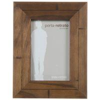 Porta-retrato-10-Cm-X-15-Cm-Castanho-Rustico