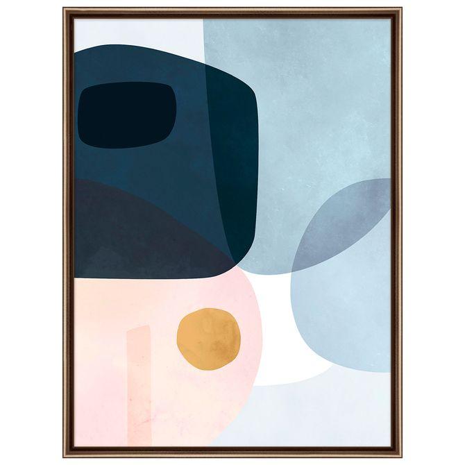 Pastel-Organic-I-Quadro-61-Cm-X-81-Cm-Cobre-multicor-Galeria-Site