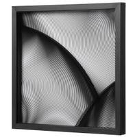 Ii-Quadro-48-Cm-X-48-Cm-Preto-preto-Bar-Design