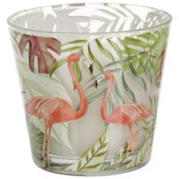 Flamingo-Vela-Perf-8-Cm-X-9-Cm-Multicor-branco-Tropicute