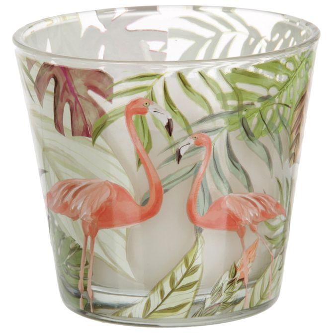 Flamingo-Vela-Perf-8-Cm-X-9-Cm-Multicor-branco-Tropicute