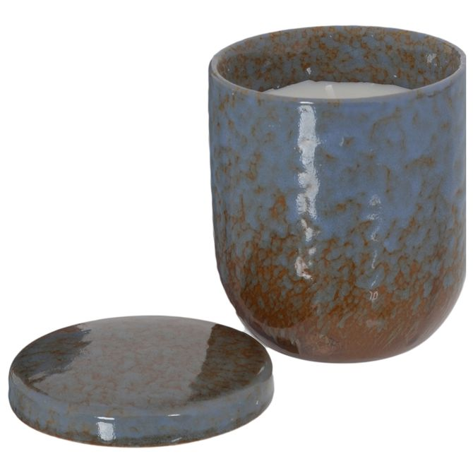 Vela-Perfumada-Pote-9-Cm-X-8-Cm-Azul-branco-Reaktiv