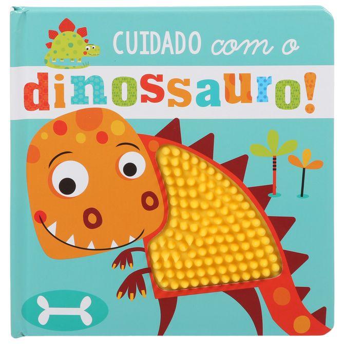Livro-Cuidado-Com-O-Dinossauro--Multicor-Livro-Infantil