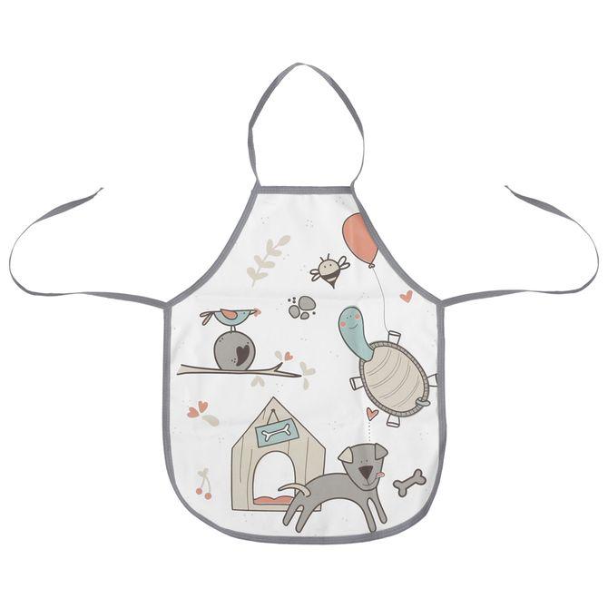 Avental-Infantil-Multicor-Minha-Casinha